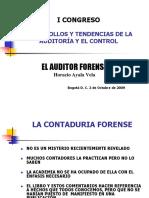 1 El Auditor Forense