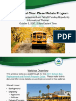 2017 DERA School Bus Rebate Webinar