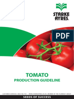Tomato Production Guideline 2014