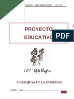 PROYECTO EDUCATIVO DE CENTRO (Curso 2017 -2018)