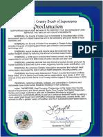 MeatlessMondayProclamationSignedSanta Cruz Countysupervisors