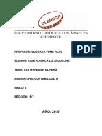 Mypes en El Perú