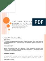 Análisis de Puesto de Trabajo Panadero Presentacion