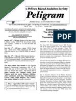 October 2007 Peligram Newsletter Pelican Island Audubon Society