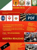 Las Universidades en El Perú
