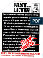 Belfast Bulletin No 10 the Law in Northern Ireland Spring 1982