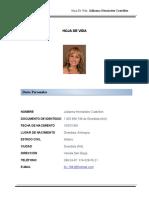 _Hoja de Vida Jullianna Hernández Castrillón
