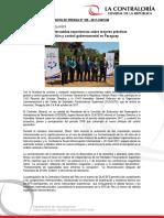 Contralor intercambia experiencias sobre mejores prácticas de gestión y control gubernamental en Paraguay