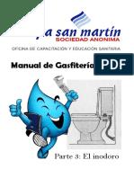 Manual de Gasfitería Básica - Inodoros - Copia