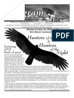 October 2008 Peligram Newsletter Pelican Island Audubon Society