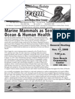 November 2008 Peligram Newsletter Pelican Island Audubon Society