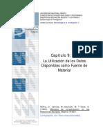 Métodos de Investigación en las Relaciones Sociales. Capítulo 9