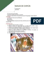 GASTRONOMIA XINCA (RECETAS)