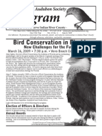 March 2009 Peligram Newsletter Pelican Island Audubon Society