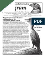 April 2009 Peligram Newsletter Pelican Island Audubon Society