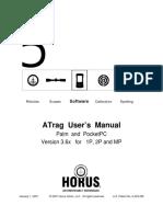 Manual Horus ATrag-V36