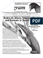 October 2009 Peligram Newsletter Pelican Island Audubon Society