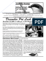 December 2009 Peligram Newsletter Pelican Island Audubon Society