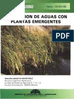 Depuracion de Aguas Plantas