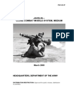 FM 3-22.37 - JAVELIN Close Combat Missile System Medium