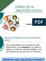 TRASTORNO DE LA COMUNICACIÓN SOCIAL  ed diferencial.ppt