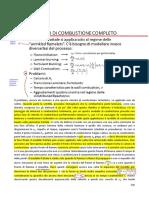 9.1 - Modello Di Combustione Completo
