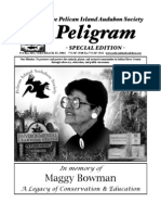 Maggy Bowman Special Edition,  Pelican Island Audubon Society