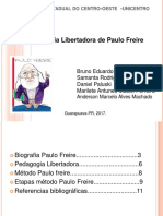Slide Paulo Freire
