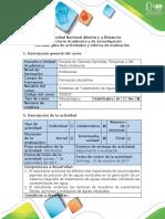 Guía de actividades y rúbrica de evaluación - Fase II - Descriptiva.pdf