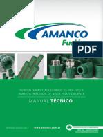 Amanco Fusion Manual Tecnico
