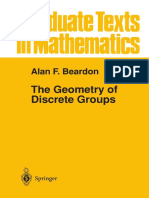 The Geometry of Discrete Groups (Alan F. Beardon)