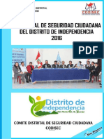 plan_codisec_2016Plan Local de Seguridad Ciudadana Distrito de Independencia.pdf