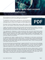 R3 and TradeIX to Build Open Account Blockchain Application - GTR - September 2017