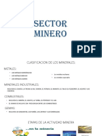 Sector Minero