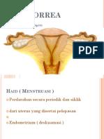 2.3.6.6 Amenorea Fisiologi, Primer, Dan Sekunder, Serta Penatalaksanaanya