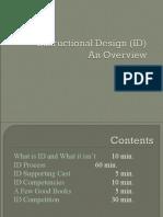 Instructional Design - Power Point Presentation