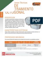 0032ea Ficha Tecnica Caja Octogonal
