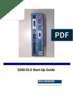 S200-DLS Startup Manual en-US RevA
