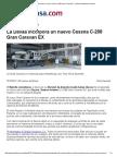 La Davaa Incorpora Un Nuevo Cessna C-208 Gran Caravan EX