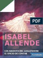Los amantes del Guggenheim El oficio de contar - Isabel Allende.pdf