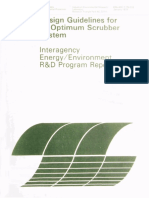Design Guidelines for an Optimum Scrubber System