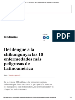 Enfermedades Más Peligrosas de Latinoamérica