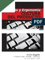 Diseño y ergonomia