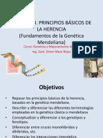 Capitulo i. Principios de La Genetica (Mendelismo)