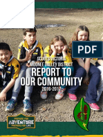 Moonee Valley District Scouts - Annual Report 2016-2017