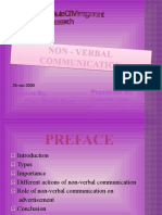 Non Vebal Communication