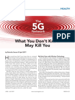 5G What You Don't Know May Kill You