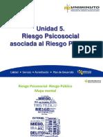 5. Unidad Riesgo Psicosocial Asociada Al Riesgo Publico