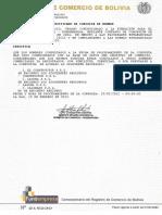 Fundempresa Certificado de Consulta de Nombre Cafe Al Paso