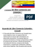 Tratado de Libre Comercio Con CANADA !